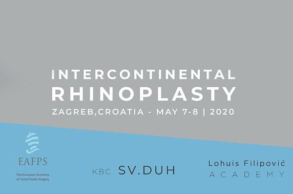 Intercontinental Rhinoplasty Course May 7-8 2020